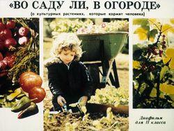 "Диафильм ""Во саду ли, в огороде"" бесплатно"