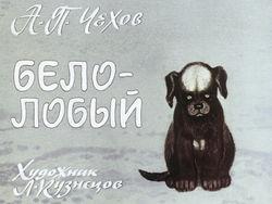 Диафильм Белолобый бесплатно