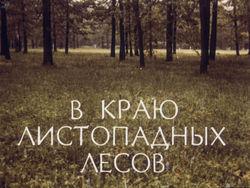 Диафильм В краю листопадных лесов бесплатно