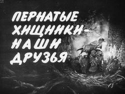 Диафильм Пернатые хищники - наши друзья бесплатно