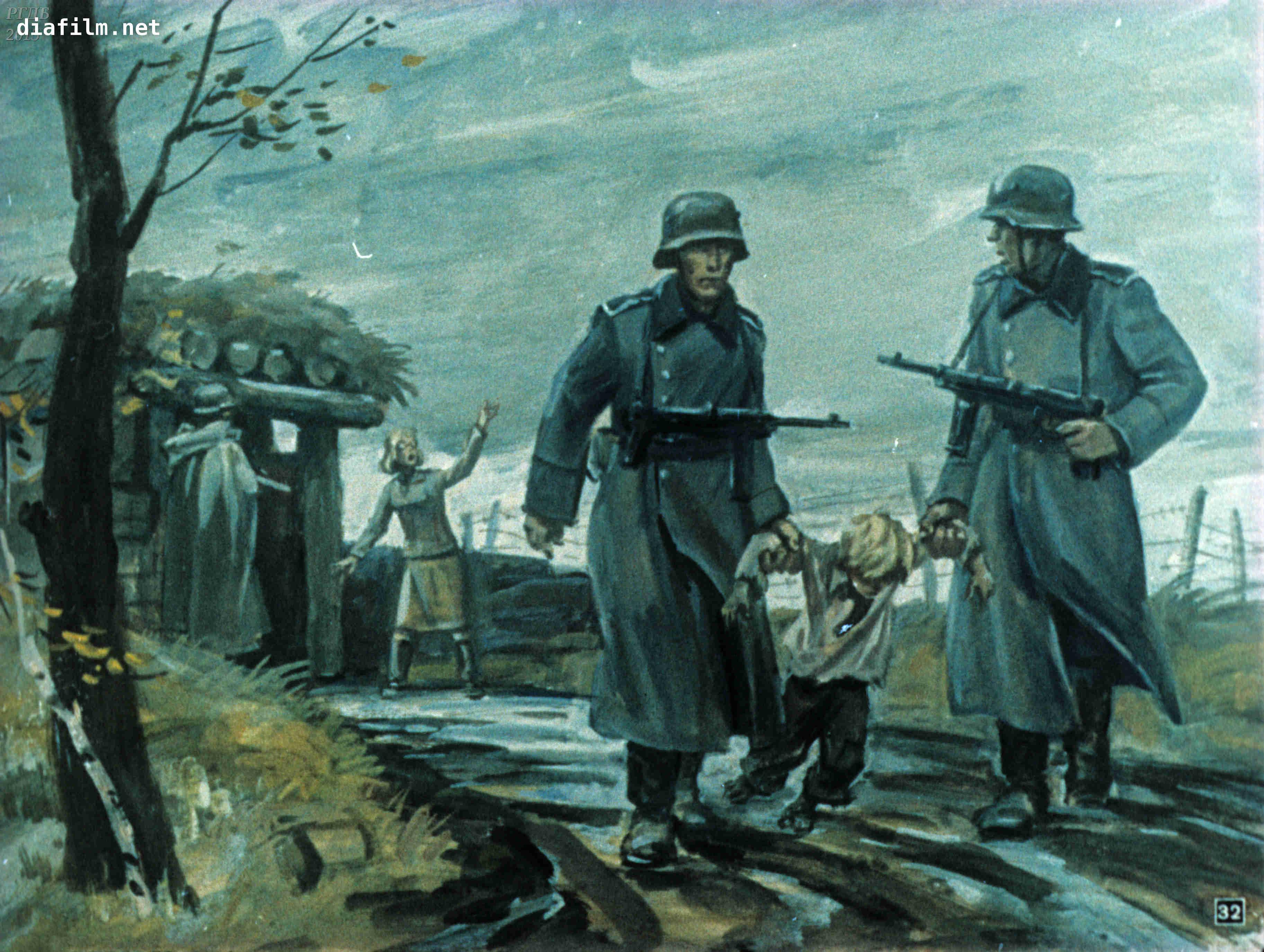 Иллюстрации к сыну полка