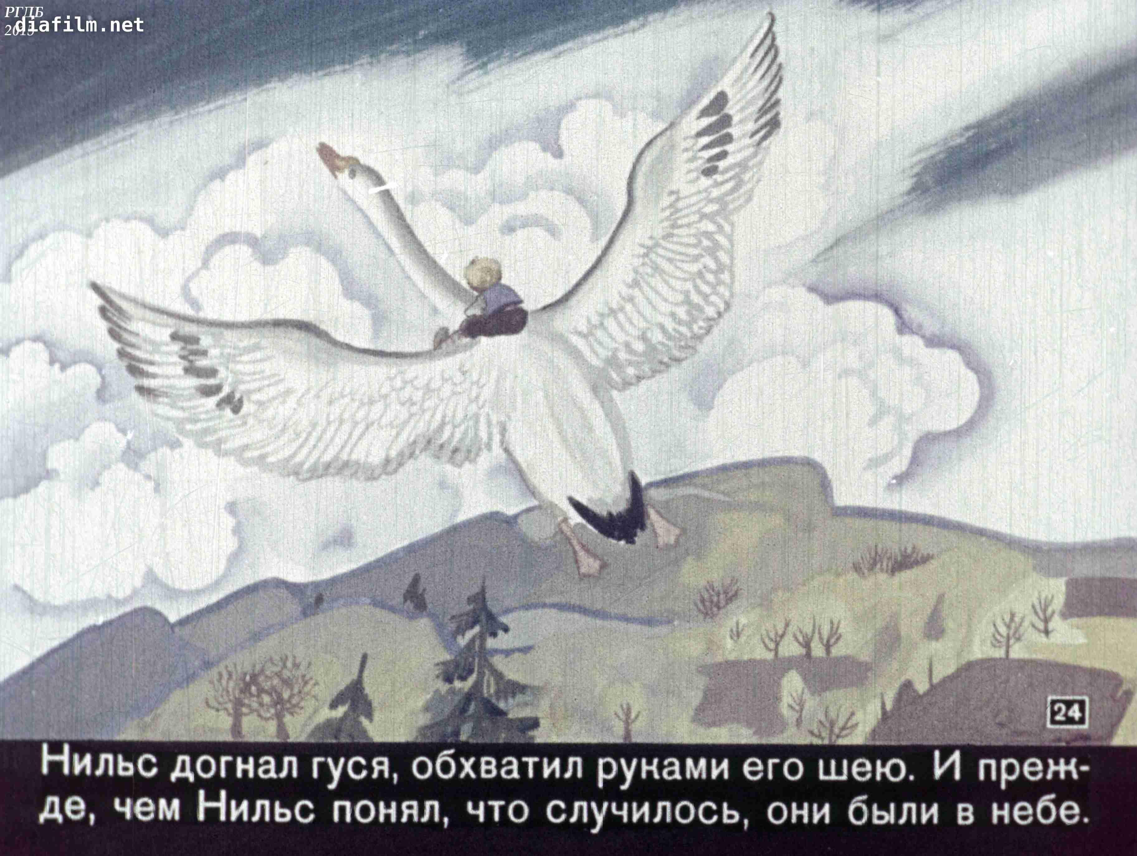 раскраска нильса из сказки чудесное путешествие нильса с дикими гусями курники очень