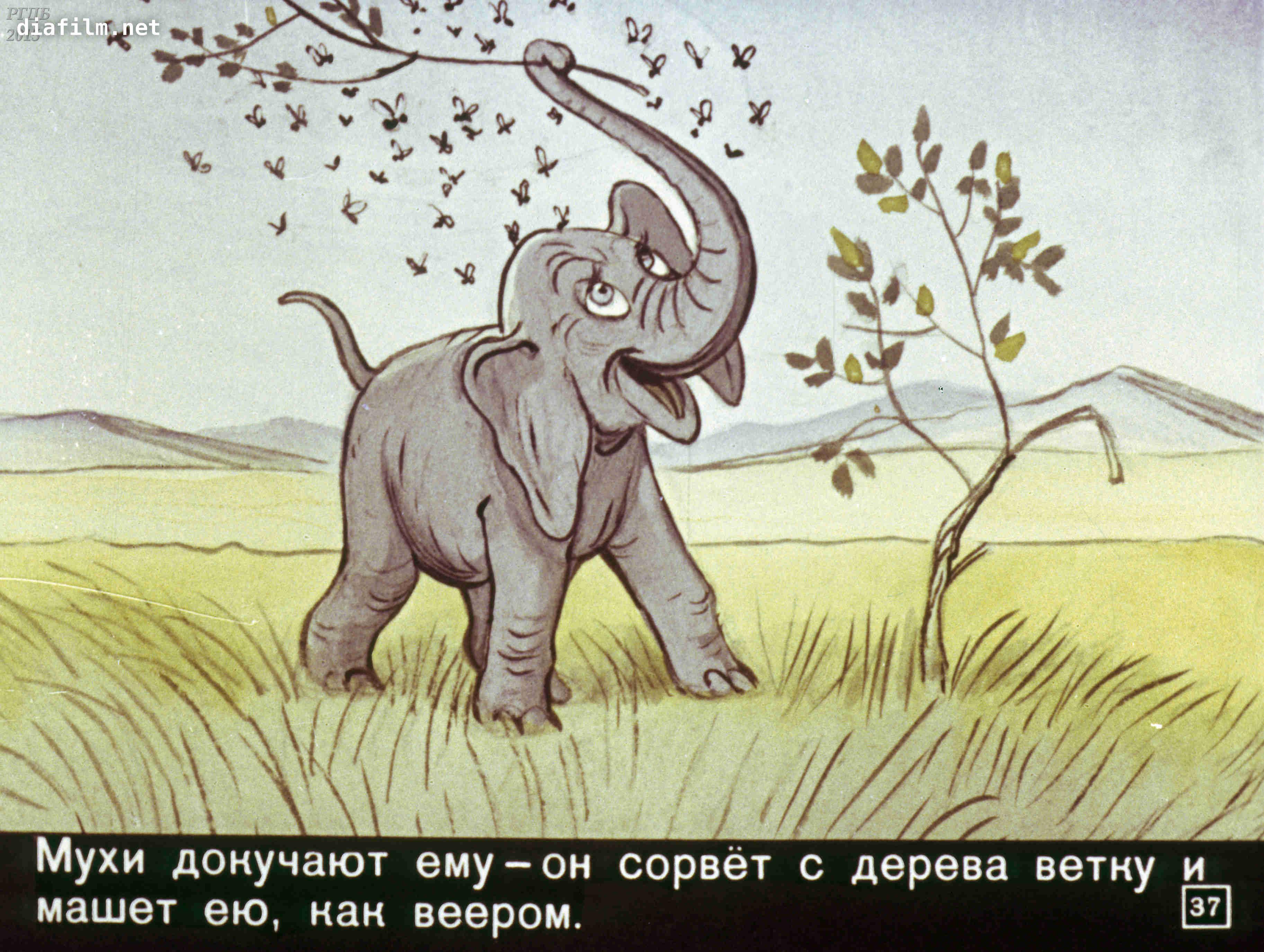 Киплинг картинки слоненок, месяца