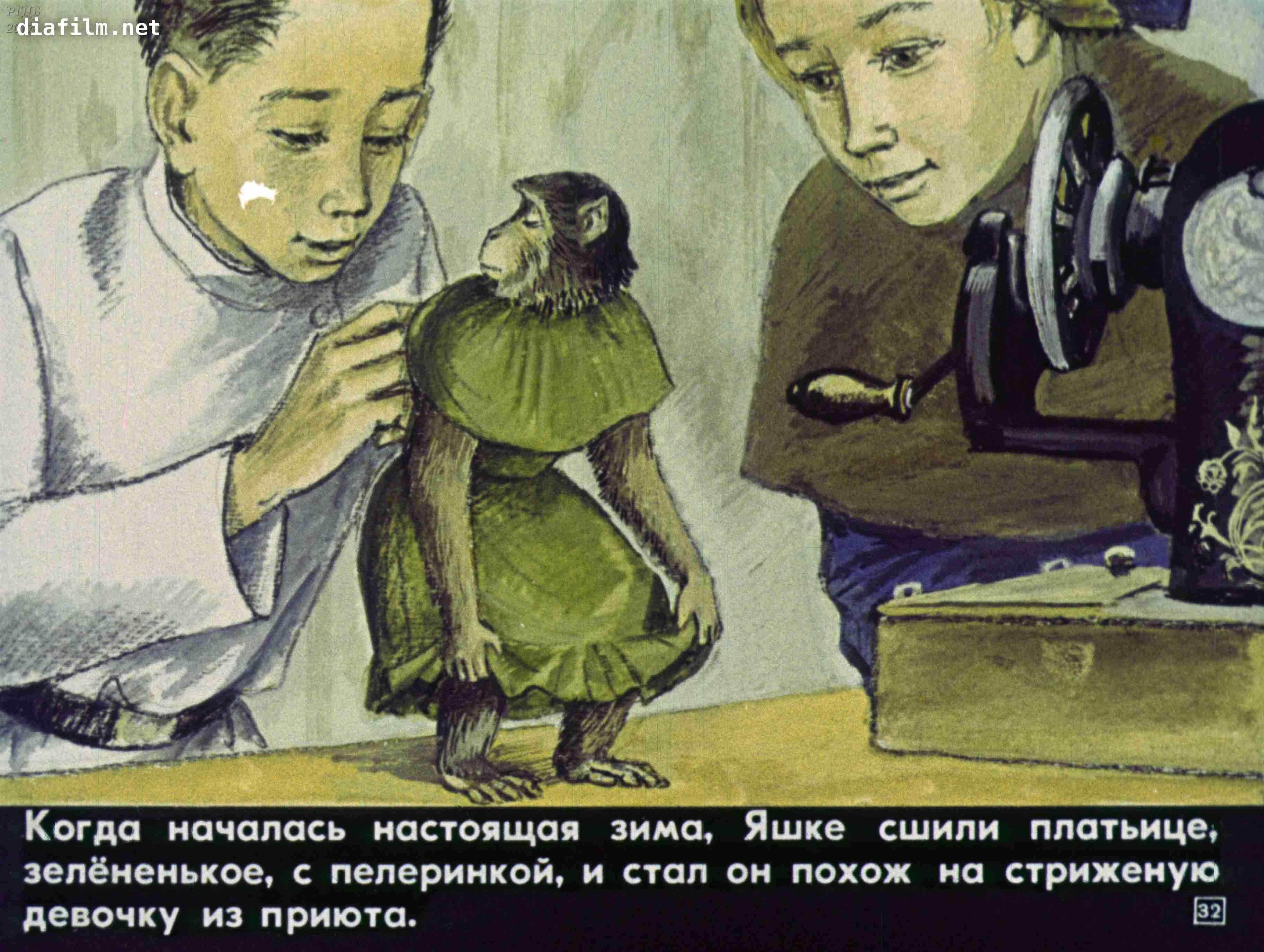 простые картинки к рассказу про обезьянку получения подробной информации